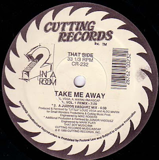 2 In A Room - Do What You Want & Take Me Away [12'' Vinyl 1989]