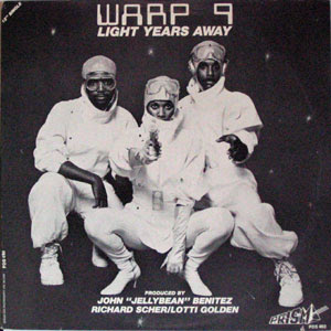 Warp 9 - Light Years Away [12'' Vinyl 1983]