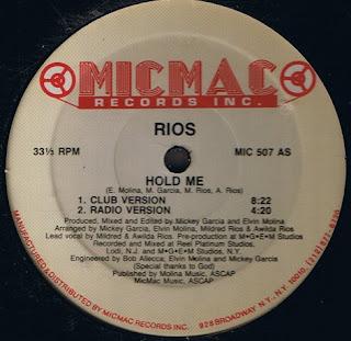 Rios Sisters - Hold Me [12'' Vinyl 1989]