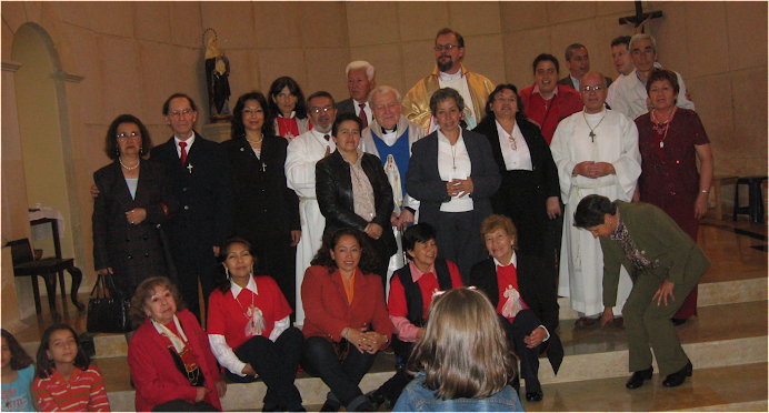 Consagración de Misioneros de la Divina Misericordia 15 de noviembre de 2009