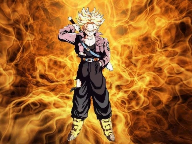 dragon ball z trunks super saiyan 3