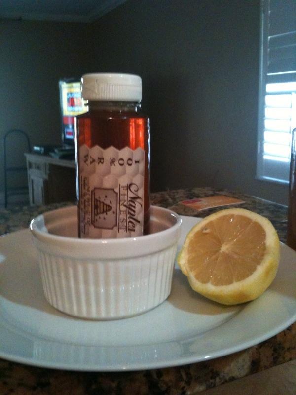 Myself 2.0: Honey Lemon Pots de Creme
