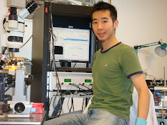 Huai-Ti in the lab