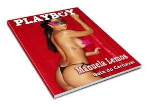 Playboy - Gata do Carnaval - Manuela Lemos - Fev 2009