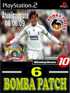WE 10: Bomba Patch 6.0   Ps2