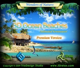 3D Ocean Beaches Screensaver