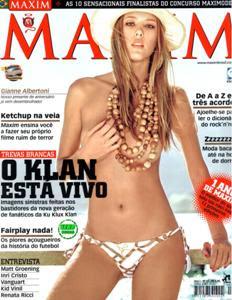 Download Gianne Albertoni Maxim Brasil 08-2009