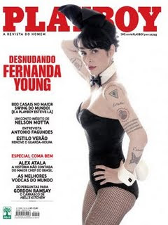Playboy Fernanda Young (Novembro de 2009)