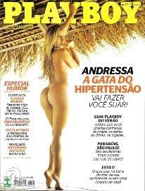 Revista Playboy Andressa Ribeiro Janeiro 2011