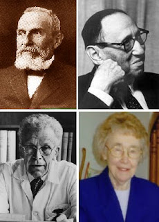 Eugen Bleuler, Leo Kanner, Hans Asperger y Lorna Wing