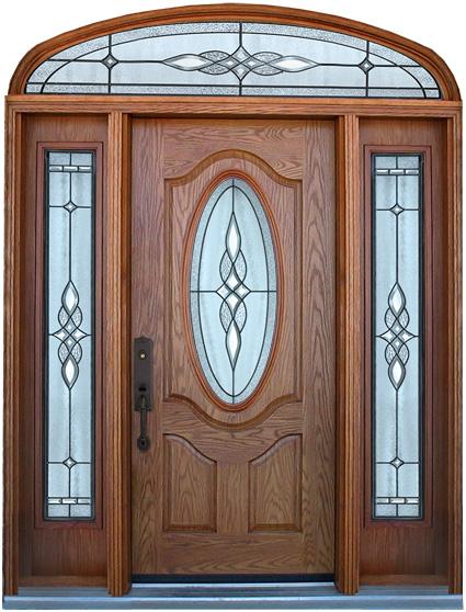 входная дверь на заказ в частный дом