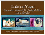 2011 Charity Cat Calendar from Artist Andy Mathis