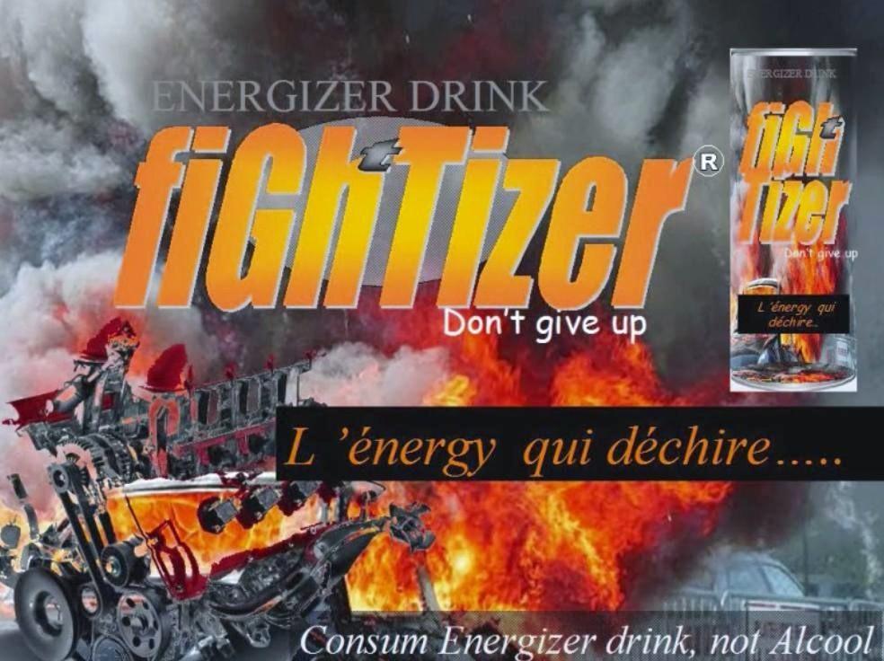 figh'tizer energy drink - Lancement officiel de la marque française l' Energy qui déchire