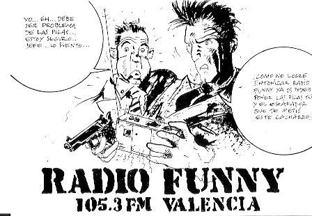 Radio Funny Valencia 105.3 fm