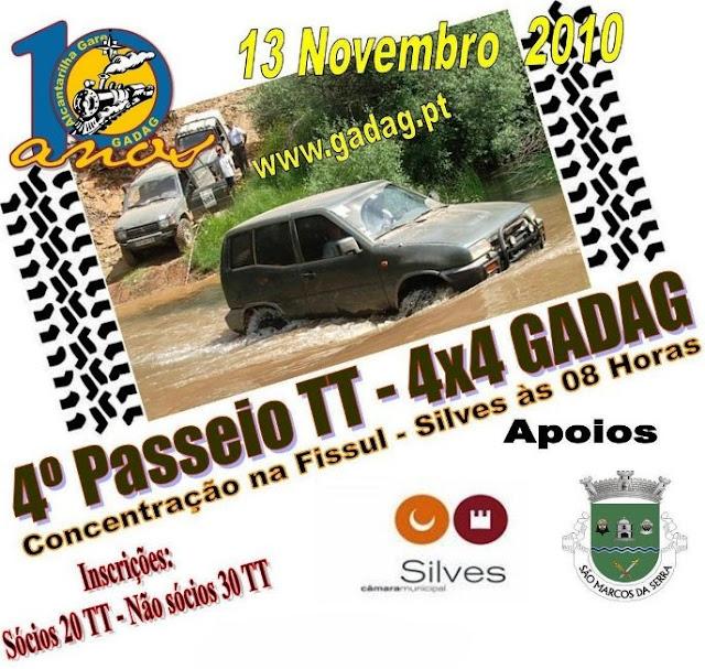 IV Passeio TT GADAG 2010