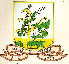 BRASÃO DE RIACHO DE SANTANA