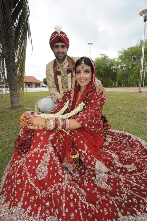 A Brighter Red Indian Bridal Lehnga