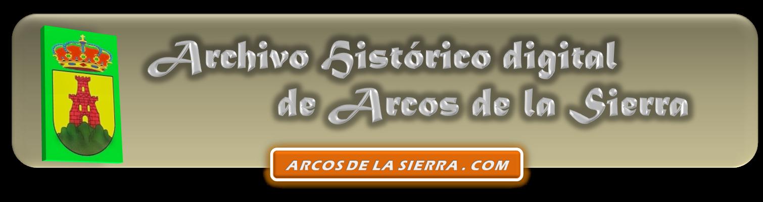 ARCHIVO HISTORICO DE ARCOS DE LA SIERRA - PORTADA