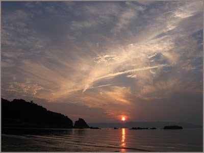 CLICK for more sunset at Shiraishi Island