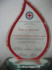 Red Cross Plaque 2007