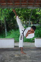 Karatedo - Yoko Geri