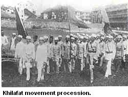 Opinions on Khilafat Movement