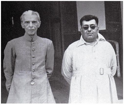 Quaid-e-Azam with Khan of