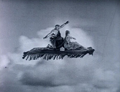 Arabian movie with flying carpet?  If you say so!