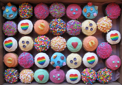 Profil Sule on Here S Some Fun Rainbow Inspired Cupcakes We Did For