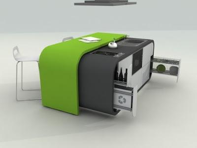 لمنزل نظيف ومنظف  Fevzi-karaman-modular-kitchen-design-open