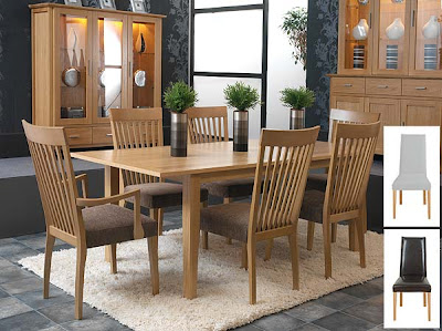 Horizon Rectangular Extending Dining Set from Furniture 123