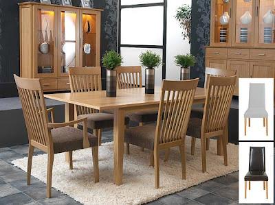 Horizon Rectangular Extending Dining Set from Furniture 123