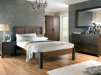 Lyon Walnut Bedroom range from Furniture 123