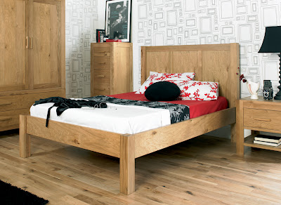 Lyon Oak Bedstead from Furniture 123