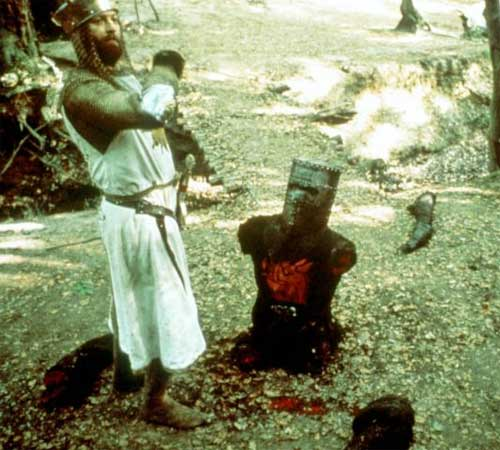 Nightmare fuel podcast episode six monty python and the for Holy grail farcical aquatic ceremony