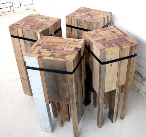 Gold treehouse diy bar stools Rustic outdoor bar stools