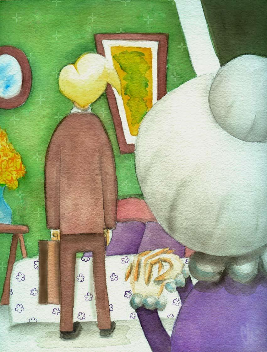 Landlady by Roald Dahl
