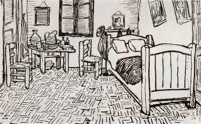 taller retrato cuatro dibujos de van gogh. Black Bedroom Furniture Sets. Home Design Ideas