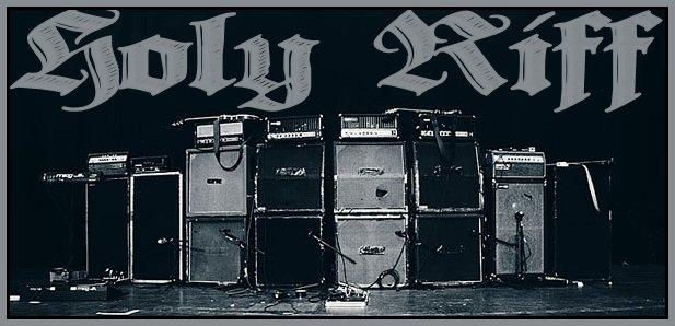 Des guitares, des amplis, et des pédales d'effets infernaux Rif