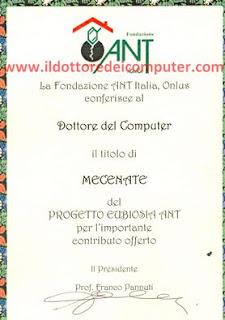 mecenate ANT Il Dottore dei Computer