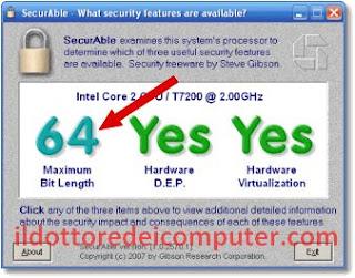 verificare architettura processore