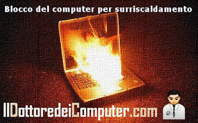 problemi surriscaldamento notebook