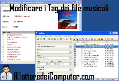 modificare tag file audio mp3