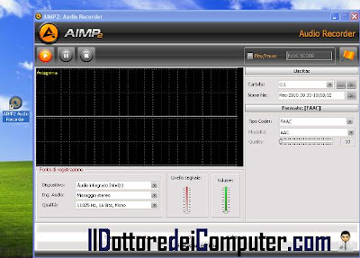 aimp2 audio recorder