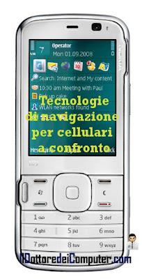tecnologia velocità navigazione cellulare