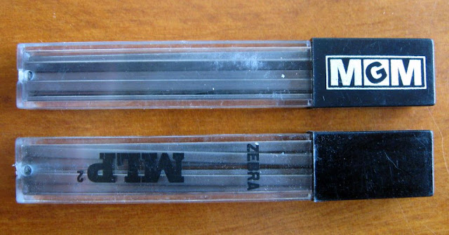 Zebra and MGM 1.85mm rectangular lead refills