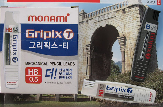 monami gripix-t lead refills