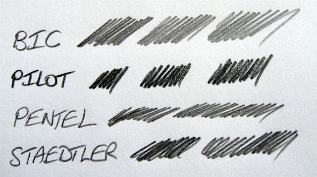 pilot easy-lead v pentel ain and other brands