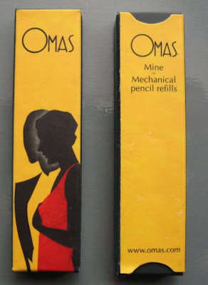 omas pencil lead refill