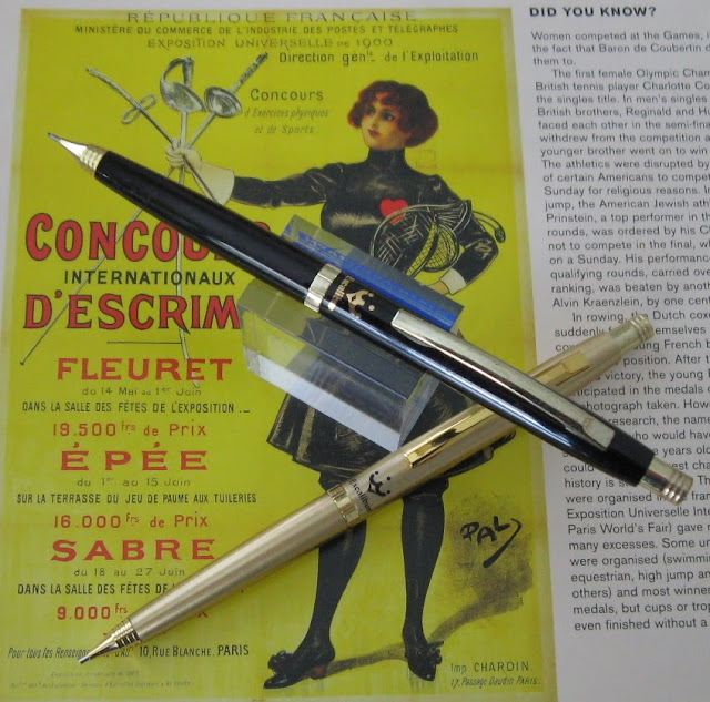 pentel excalibur the black prince